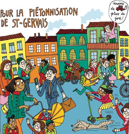 Comprendre le nouveau plan de circulation à St-Gervais