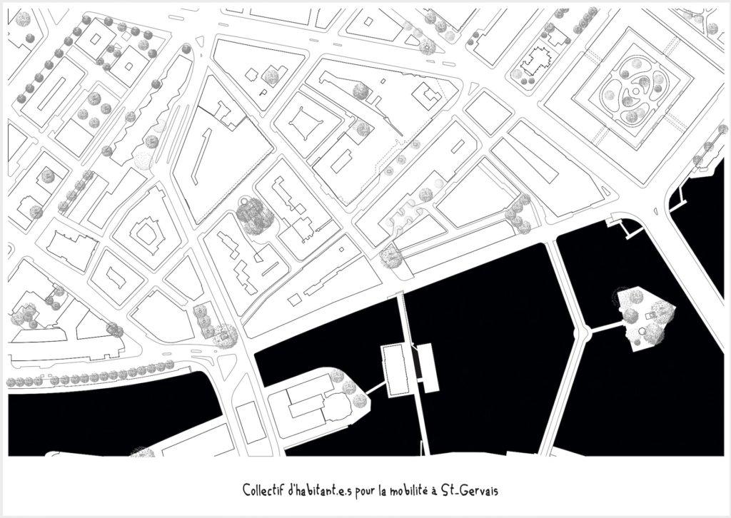 Plan de St-Gervais