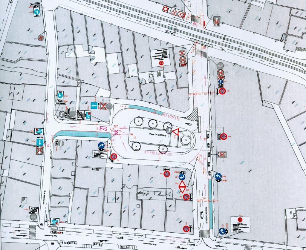 Nouveau plan de circulation St-Gervais