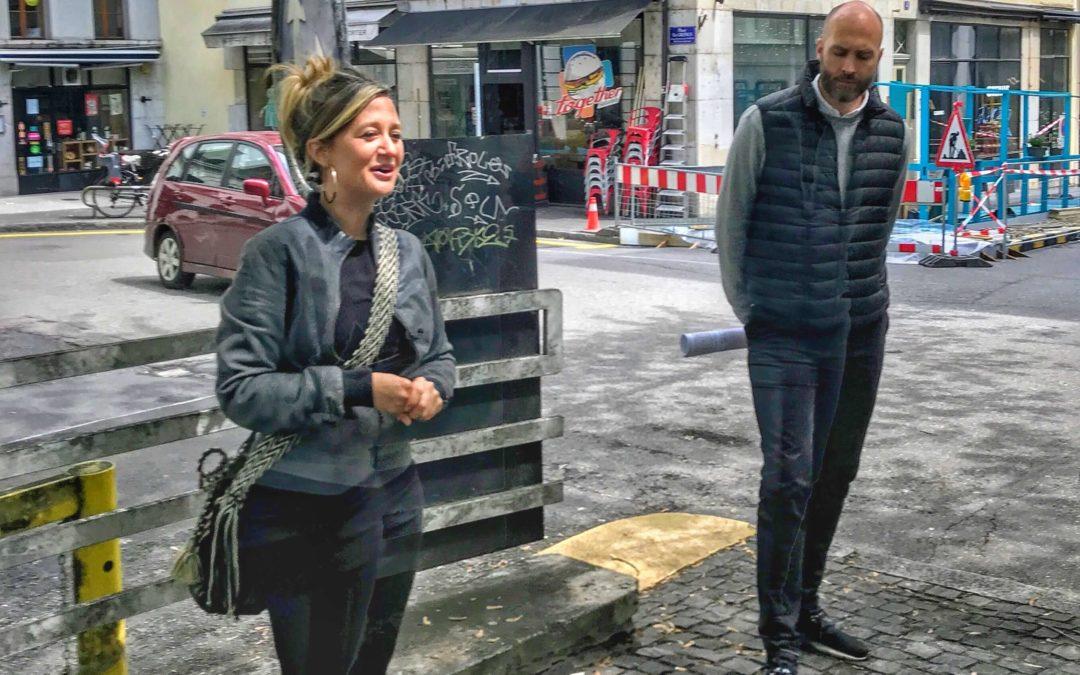 Conférence de presse: nouvelle mobilité à St-Gervais