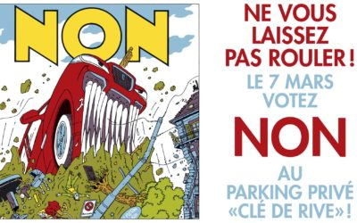 Parking clé-de-rive: non merci