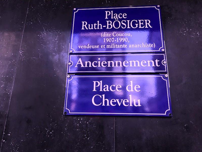 Un petit coucou à la place Ruth Bösiger?