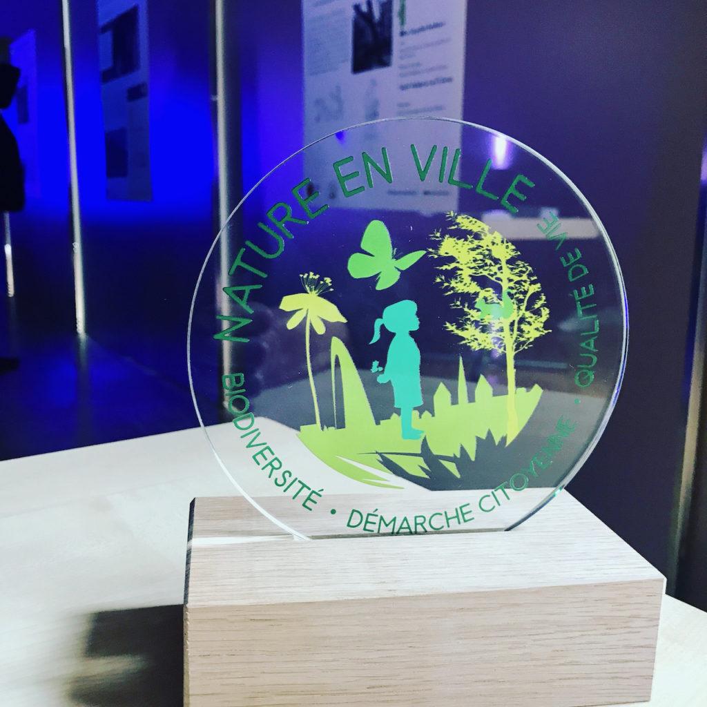 Trophée prix concours Nature en ville 2021