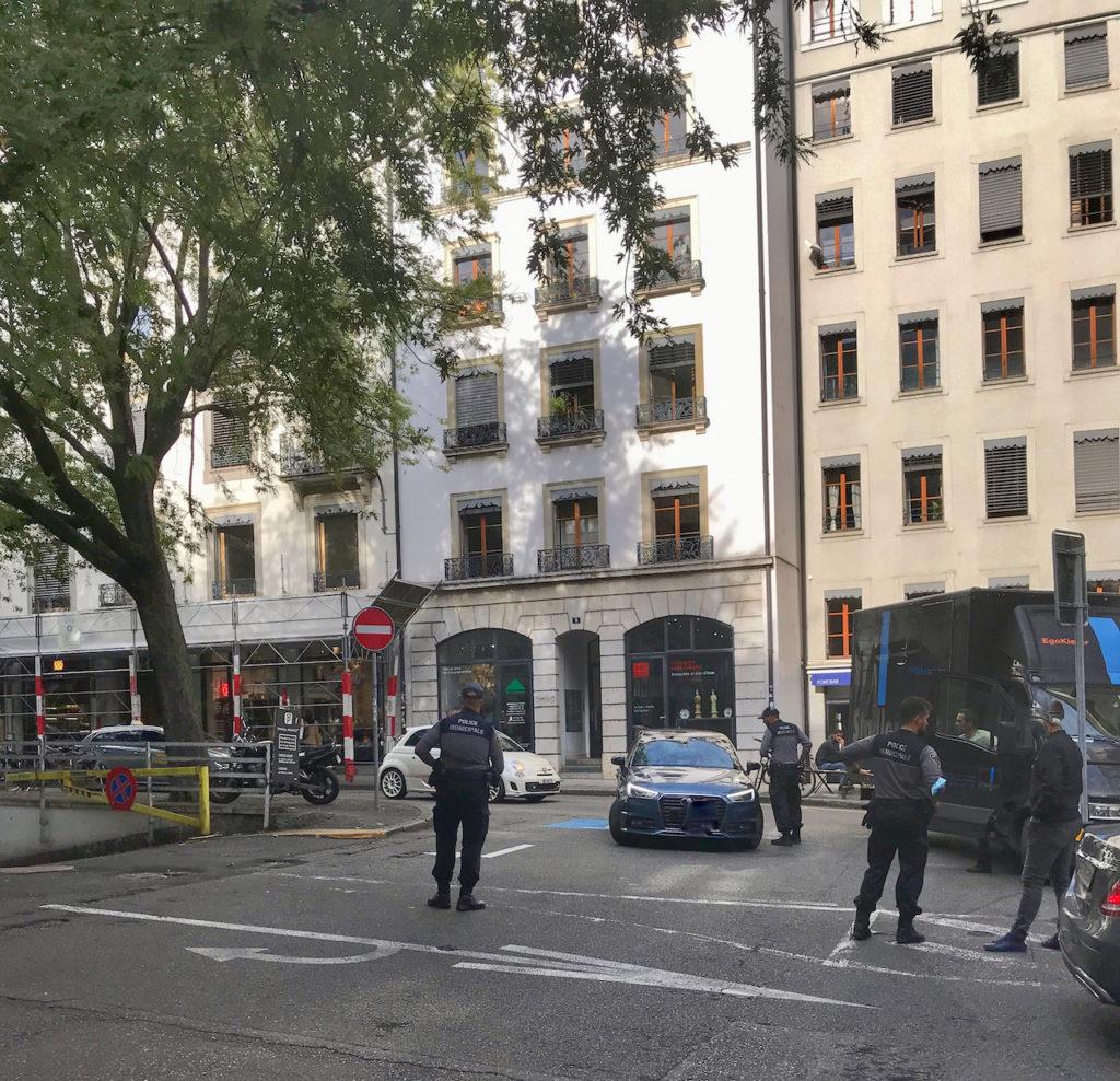 Intervention Police Municipale Genève